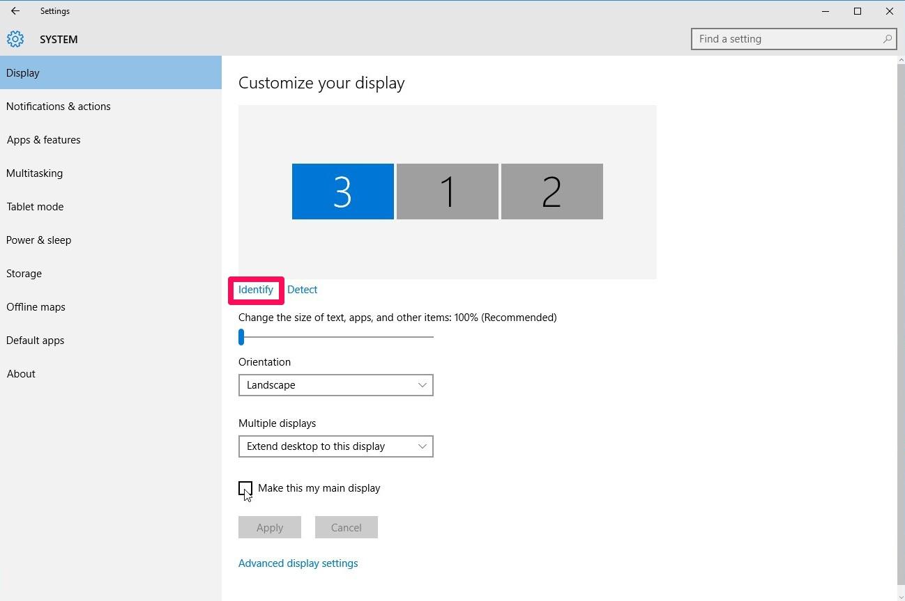 Windows thinks my DVI D monitor is my main   Tom's Hardware Forum